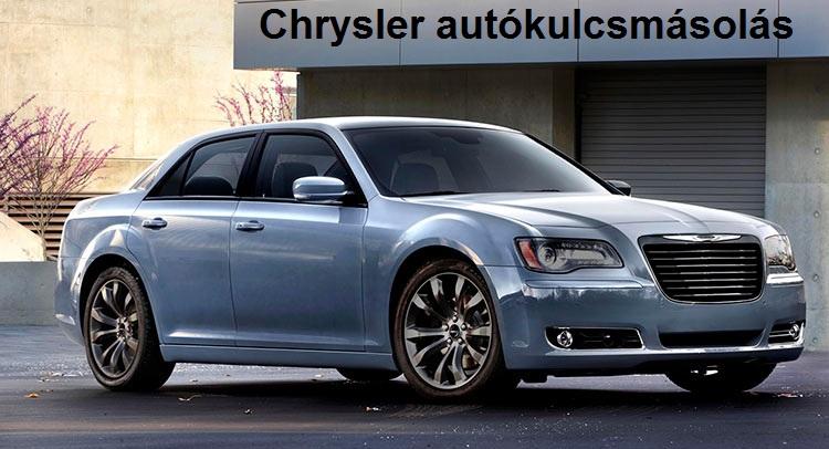 Chrysler kulcsmásolás, Chrysler autókulcsmásolás, kulcsmásolás, autókulcsmásolás